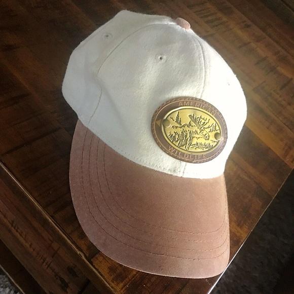 69b0717629b Brandy Melville Accessories - Vintage Suede american wildlife colorado dad  hat
