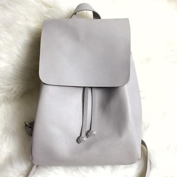 c564f94982 Zara Trafaluc Faux Leather Drawstring Backpack. M_59029a83f09282532d00aca9