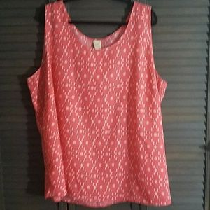Faded Glory Tops - Cute Patterned Tank