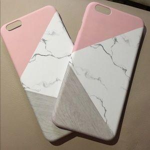 Marble Geometric Pattern Phone Case