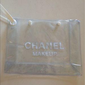 CHANEL Handbags - Chanel transparent makeup bag