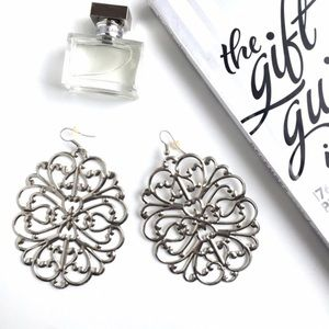 Jewelry - Silver Statement Earrings