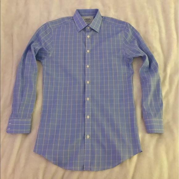 83 off charles tyrwhitt other new men 39 s plaid non for Mens dress shirts charles tyrwhitt