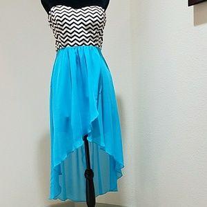 Trixxi Dresses & Skirts - XL Trixxi hi lo strapless dress