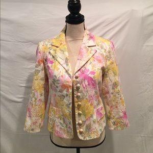 Ideology Jackets & Blazers - Ideology Spring Blazer 3/4 Sleeve EUC