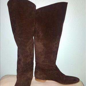 Belle by Sigerson Morrison Shoes - Belle by Sigerson Morrison suede calf flat boots