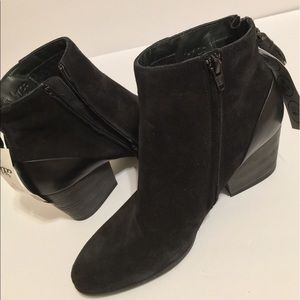 Paul Green Shoes - Paul Green Suede All Weather Booties