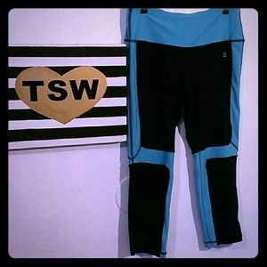 RBX Pants - RBX WORK OUT STRETCH CAPRI LEGGINGS RUNNING LARGE