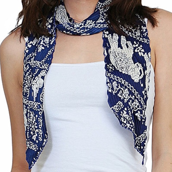 Accessories - Elephant Print Scarf