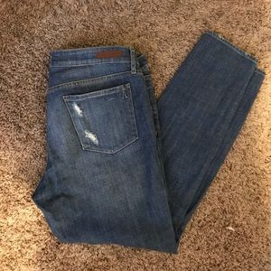 Articles Of Society Denim - Articles of Society Straight Leg Girlfriend Jeans