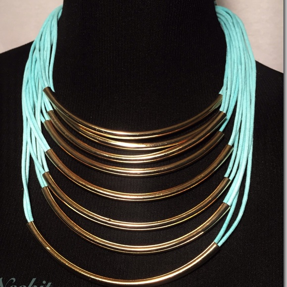 Jewelry - Teal Fashion Necklace