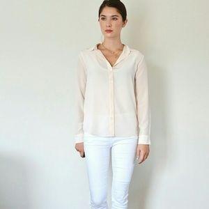Everlane Tops - XS Everlane Silk button down shirt