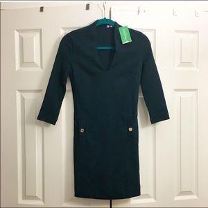 NWT Lilly Pulitzer Charlena VNeck Knit Shift Dress