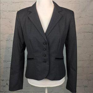 Halogen Jackets & Blazers - Halogen Nordstrom gray check Blazer size 6