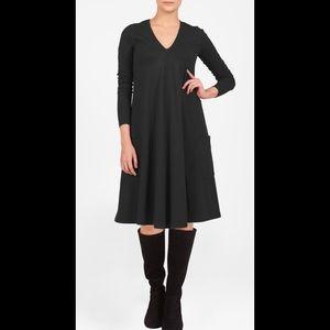 eshakti Dresses & Skirts - New Eshakti Black Trapeze Shift Dress 24W