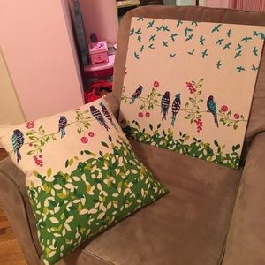 Other - Kids matching pillow and canvas set
