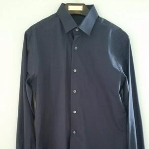 Lanvin Other - Lanvin Navy Dress Shirt