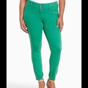 torrid Denim - NWT Torrid Green Ankle Jeggings Size 24 X-Short