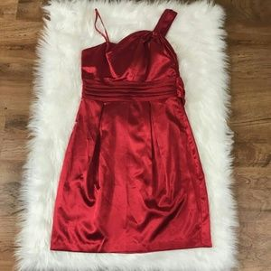 Teeze Me Dresses & Skirts - Teeze Me Red Dress