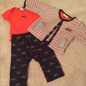 Petit Lem Other - Three piece boys set