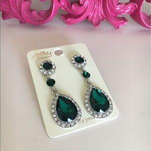 New Emerald earrings
