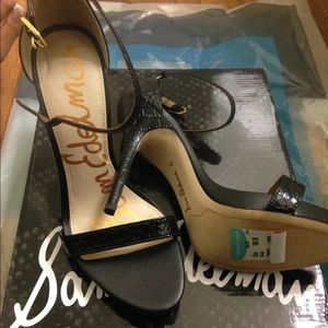 Sam Edelman Shoes - Sam Edelman Croc sandal heels