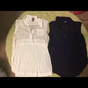 Free People tops.  Size small