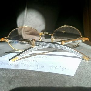 Cartier Other - Diamond Cartier Sunglasses - Limited Edition