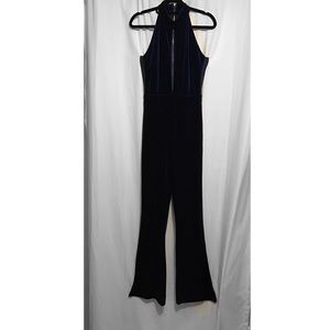 Pants - Crushed velvet jumpsuit
