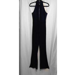 Pants - Crushed velvet jumpsuit