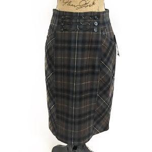 Katherine Barclay Dresses & Skirts - Katherine Barclay plaid tartan pencil skirt