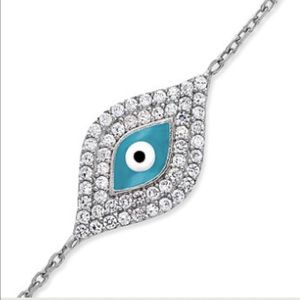 Giani Bernini Jewelry - Crystal Evil Eye Bracelet.