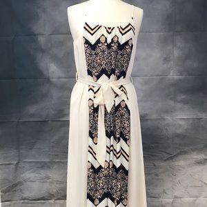Birdcage maxi dress
