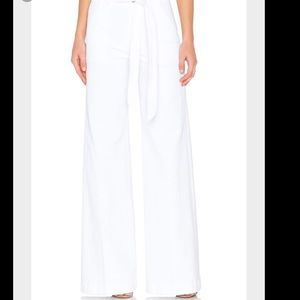 7 For All Mankind Denim - 7 for all mankind womens belted palazzo pant
