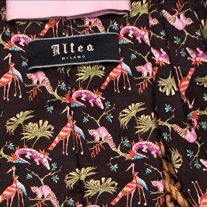 Altea Accessories - ALTEA Milano 100% Silk Tie