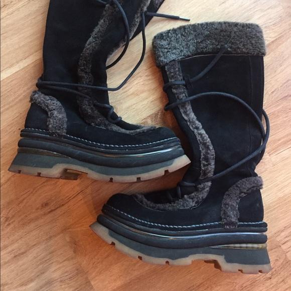 VINTAGE 90's ART COMPANY Burning Man Clubkid Boots