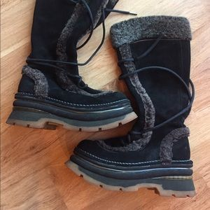 A.R.T. Company Shoes - VINTAGE 90's ART COMPANY Burning Man Clubkid Boots