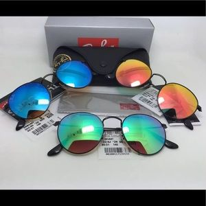 fdf10e0f093f Ray-Ban Accessories - 💯 Ray ban rb3447 Round metal gradient flash
