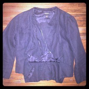 Diesel Black Gold Jackets & Blazers - Black Diesel chic zip up jacket great condition xs