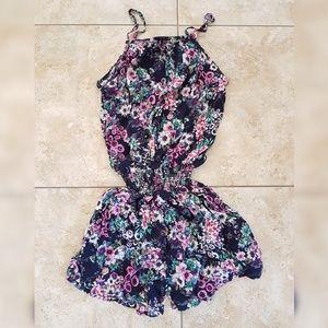 Naoz Pants - Colorful Floral Romper