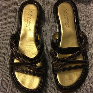 A. GIANNETTI Shoes - Italian leather sandals