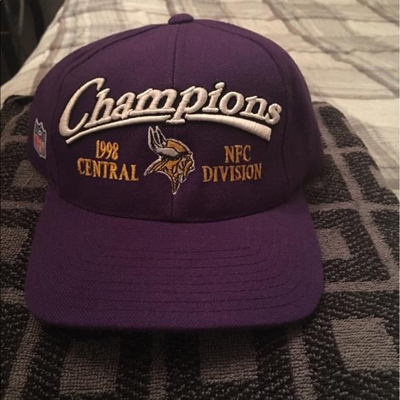 9f66f80c324a9 Vintage 1998 Minnesota Vikings Super Bowl hat. M 5902f2955a49d07b6d01a1bf