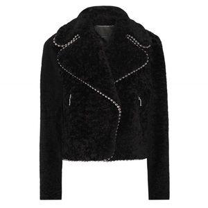 Alexander Wang Jackets & Blazers - ⬇️ NWOT Alexander Wang Embellished Shearling Coat