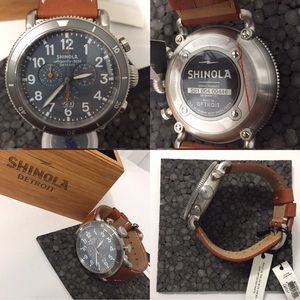 Shinola Argonite-5050 men's watch