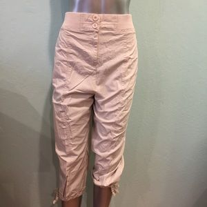 Classic Woman Pants - Cargo pants with stretch waist