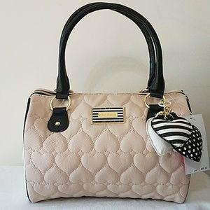 Betsey Johnson Handbags - BETSEY JOHNSON SATCHEL