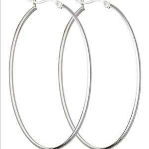 Jewelry - Silver hoop earrings