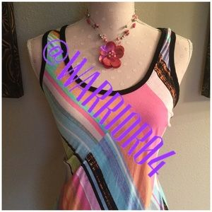 Dresses & Skirts - Summer Multi-Colored Maxi Dress