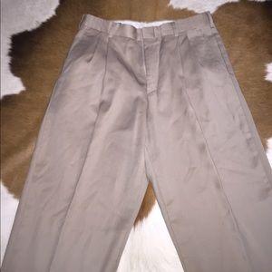 Geoffrey Beene Other - Geoffrey Beene Khaki Dress Pants - Size 32