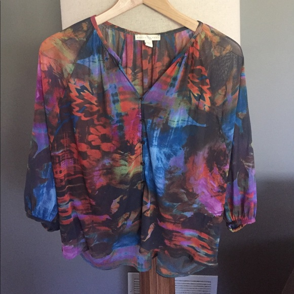 Anthropologie Tops - Anthropology beautiful blouse.